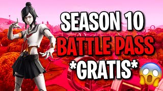 *NEW* How to get the Season 10 Battle Pass for FREE! 😱| Fortnite Battle Royale❤️