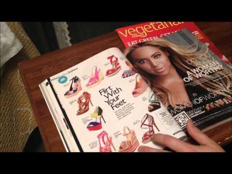 magazine read with inaudible whisper ASMR