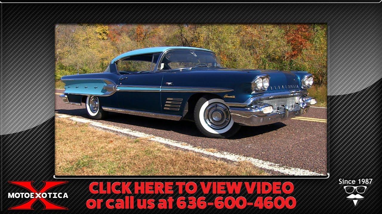 1958 Pontiac Bonneville Tri-Power Sport Coupe   MotoeXotica