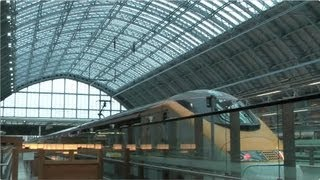 London to Paris on Eurostar Standard Premier 2013