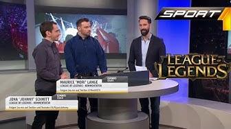 League of Legends für jedermann! LPGjustJohnny und Mori09TV erklären LoL live bei Sport1[Full HD]