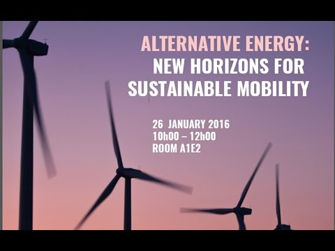 Alternative Energy: New Horizons For Sustainable Mobility