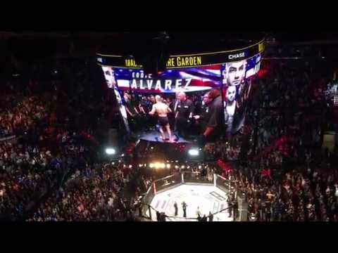 Eddie Alvarez Entrance at UFC 205 LIVE