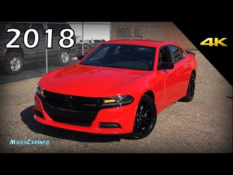 2018 Dodge Charger SXT Blacktop - Ultimate In-Depth Look in 4K