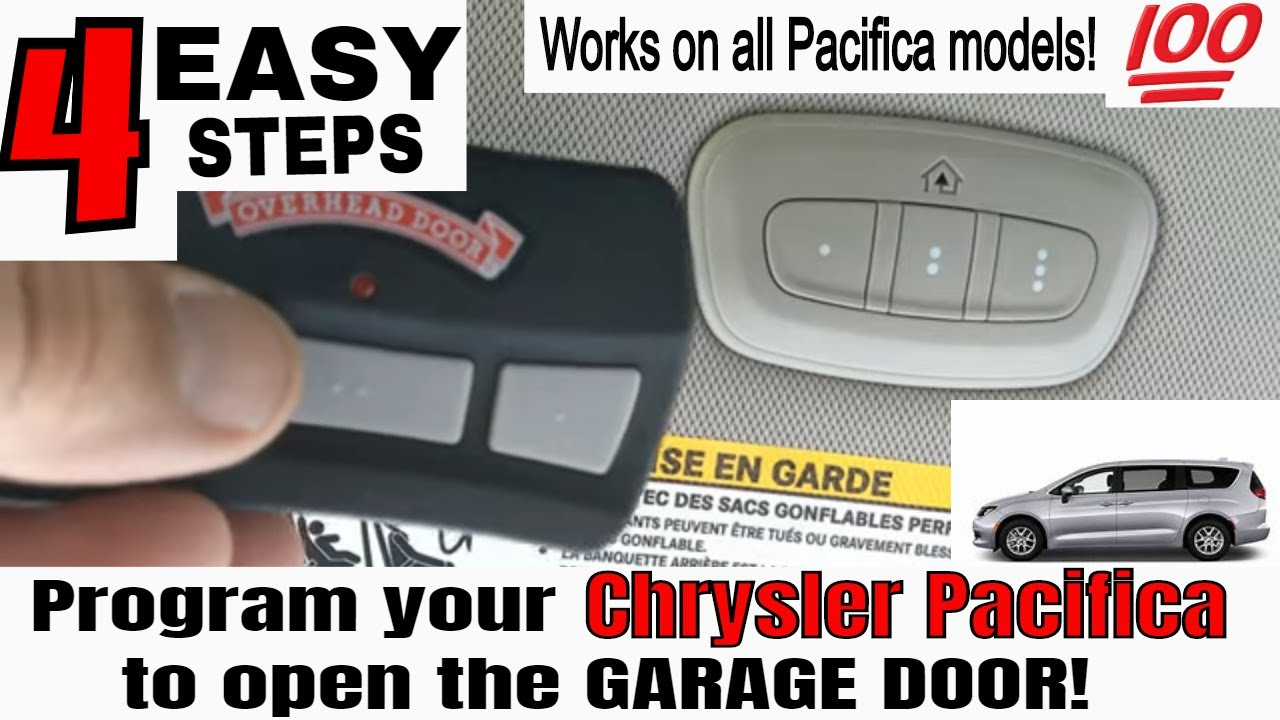 How To Program A Gmc Yukon Denali Homelink To The Garage Door