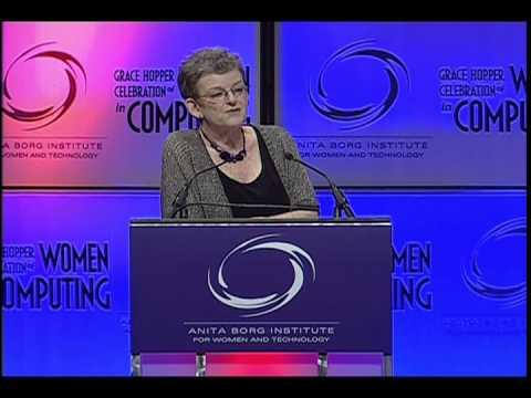 Irene Greif Acceptance Speech - 2012 Anita Borg Technical Leadership Award Winner