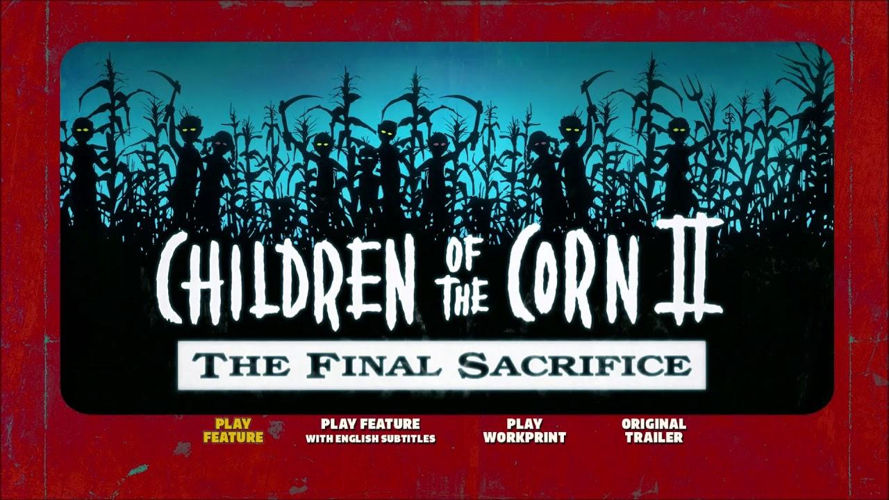 Download Opening To Children Of The Corn II (1992) (2017) (Blu-Ray) (UK)