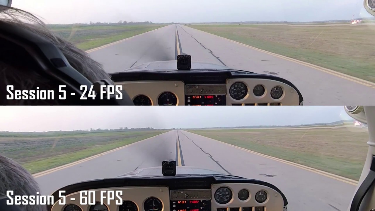 GoPro Hero Session 5 Low Light Comparison 24 VS 60 Frames Per Second ...