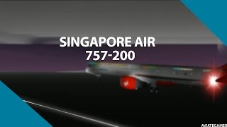 [ROBLOX] Singapore Air 757-200 Flight