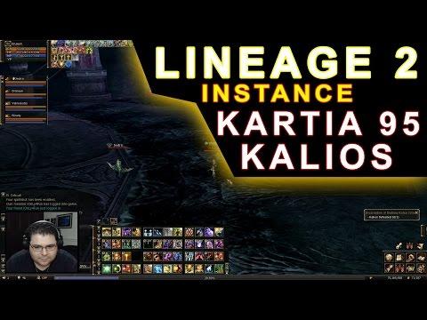 Lineage 2 – Kartia 95 (Gameplay Healer) – Matando Kalios – Server Ramona