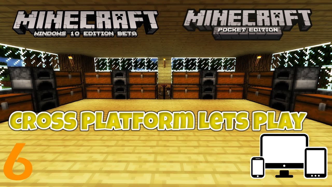 minecraft win10 pe cross platform lets play 6 expensive chest youtube. Black Bedroom Furniture Sets. Home Design Ideas