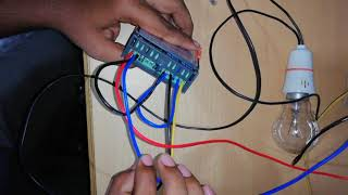 STC-1000 thermostat wiring and programming steps in Tamil