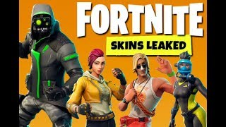 FORTNITE NEW LEAKED SKINS + P90 3D MODELS