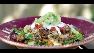 Cooking Guru: S2e8 Ground Beef Taco Salad