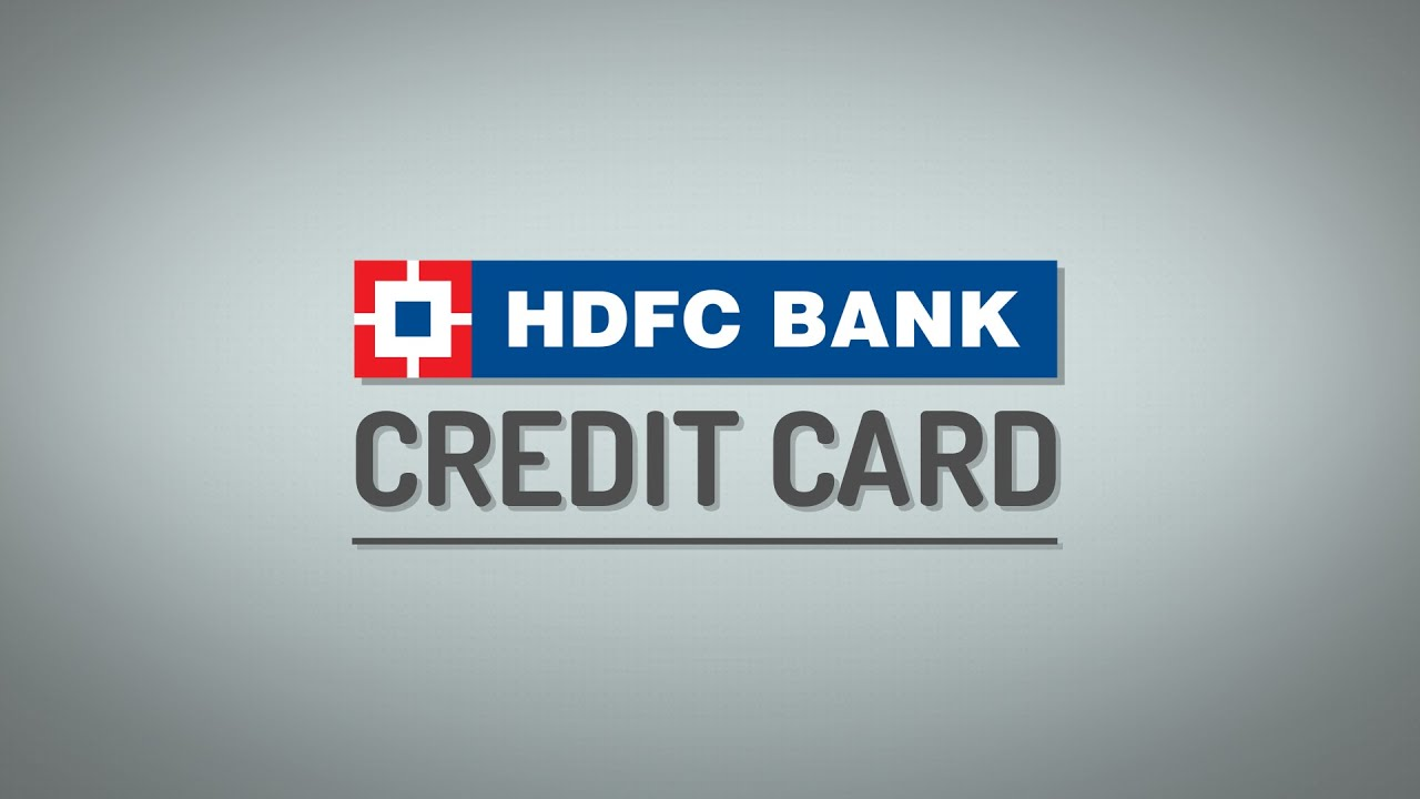 How to Apply for a HDFC Bank Credit Card on BankBazaar.com - YouTube