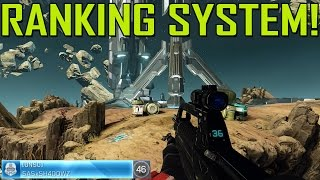 How to Rank up Fast in Halo Master Chief Collection! Ranking System! (Level up Quick XP Guide Tips)