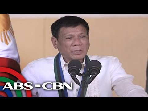 Duterte to drug lords: 'There's a time to rest and to die'
