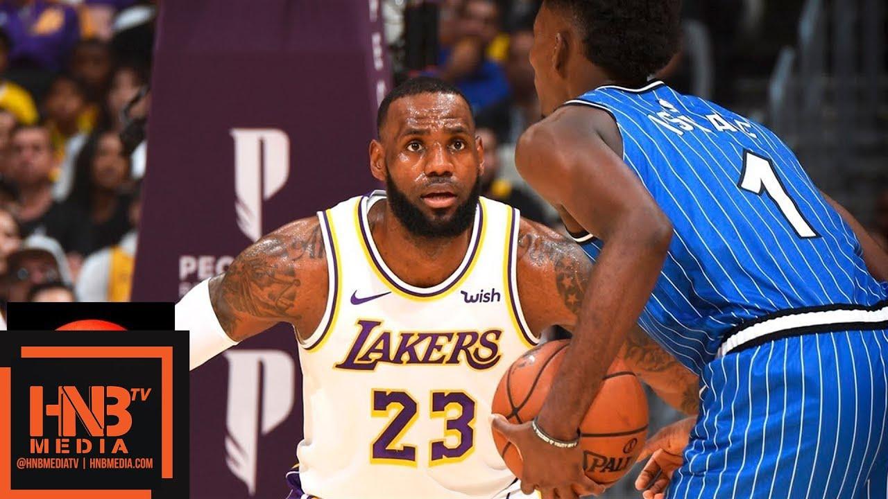 Los Angeles Lakers vs Orlando Magic Full Game Highlights ...