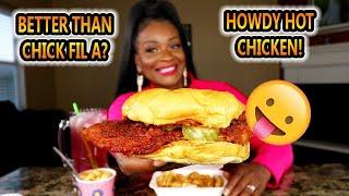 HOWDY HOT CHICKEN MUKBANG! NEW SPOT! + PATERNITY TEST STORY TIME!