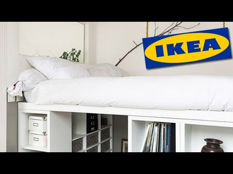 Ikea Hack Platform Bed 💛20 Diy Ideas Ikea Bed 💙 Youtube