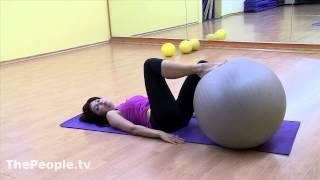 Людмила  Таг. Упражнения для беременных.Урок 2
