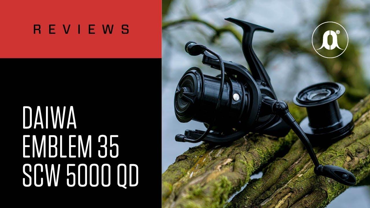 e2e909f2988 CARPologyTV - Daiwa Emblem 35 SCW 5000C QD Reels Review - YouTube