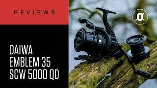 CARPologyTV - Daiwa Emblem 35 SCW 5000C QD Reels Review