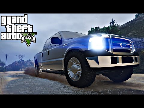 GTA V : Carro Ford F250 Super Duty 4x4 2007