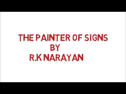 The Painter Of Signs By R.K Narayan || Hindi Me