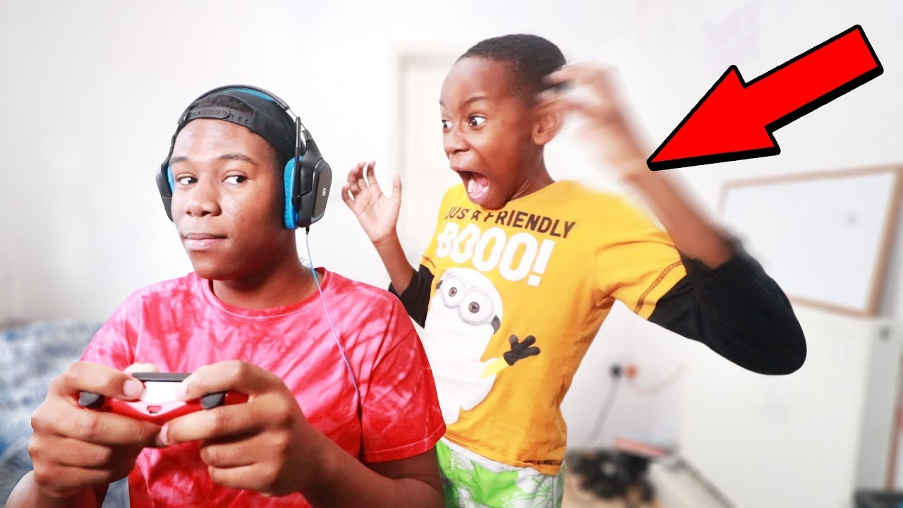 Ignoring My Little Brother For 24 Hours Challenge He Got Mad