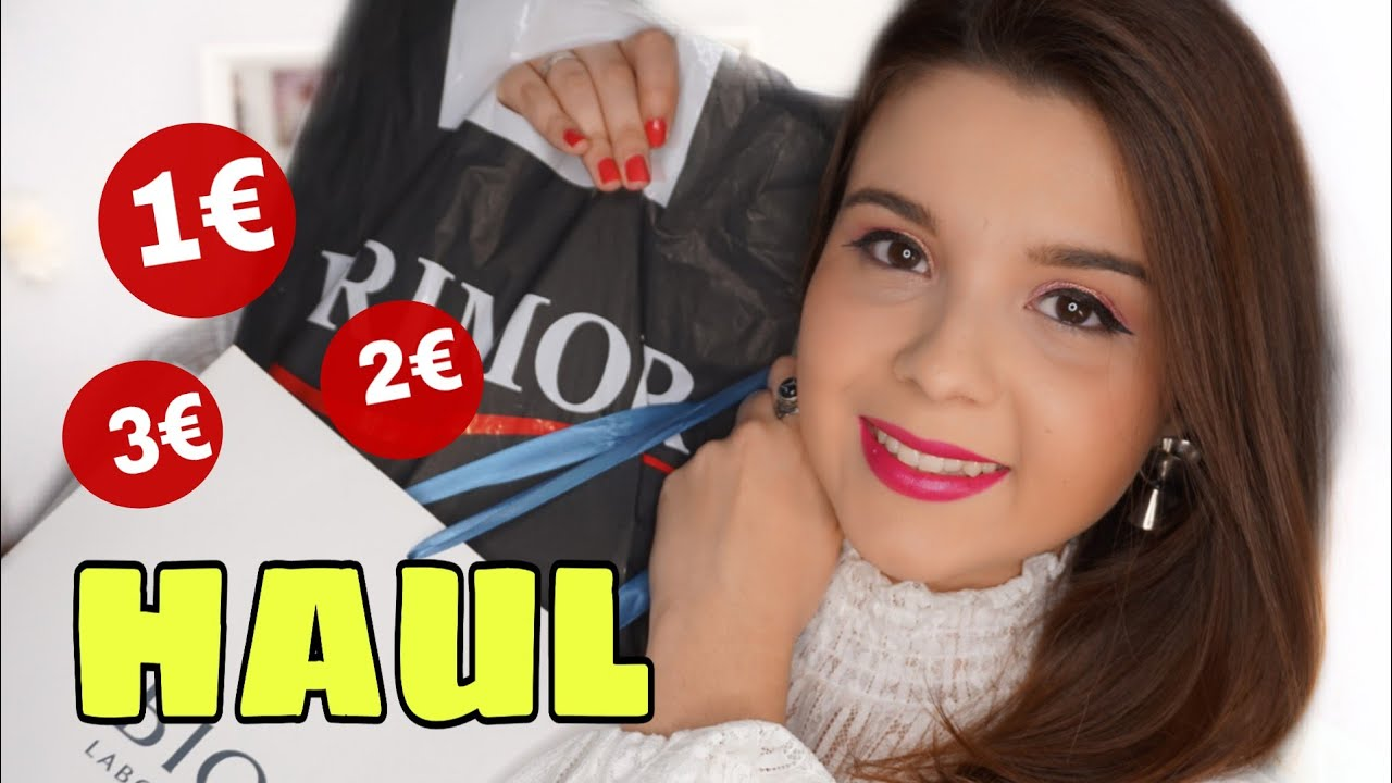 HAUL PRIMOR ! Productos a 1€ ! +  RECIBIDOS: Maquillaje LOW COST