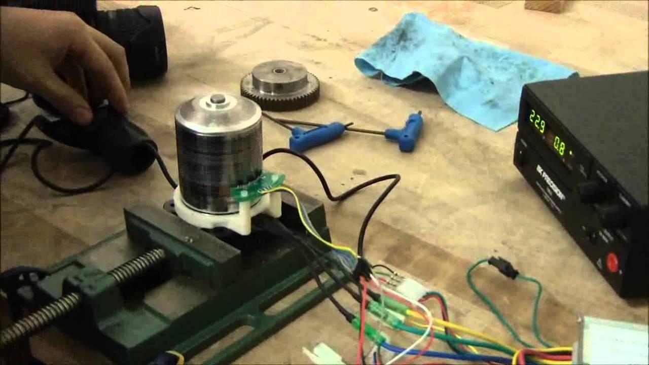 Chinese E Bike Controller Hall Sensor Self Calibration