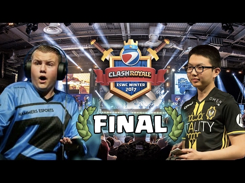LA FINAL | Surgical Goblin vs Nemsensei | ESWC WINTER FINALS 2017 | Directo | Torneo Clash Royale