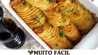 Batata de Forno Laminada – Super Fácil