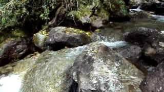 Água no início da trilha do Paiolinho (Rebel Lands)