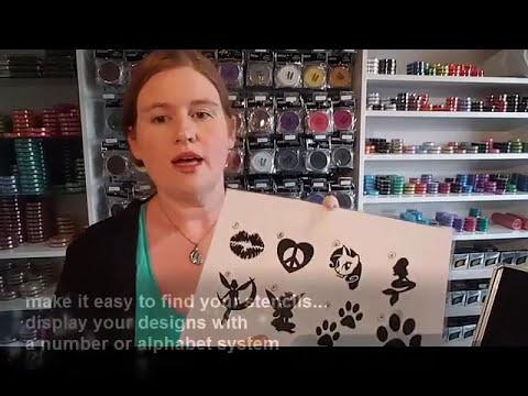 Glitter Tattoo Tutorial Plus