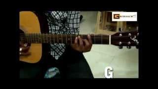 How to Play I Kya Janu Sajan I Baharon Ke Sapne I Lata Mangeshkar I Guitar Lesson
