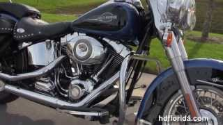 Used 2008 Harley Davidson Heritage Softail Classic Motorcycle for sale