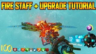 ORIGINS REMASTERED - FIRE STAFF BUILD + UPGRADE TUTORIAL GUIDE (Black Ops 3 Zombie Chronicles)