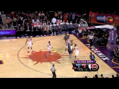 Top 10 plays of the 2009 NBA All-Star Game