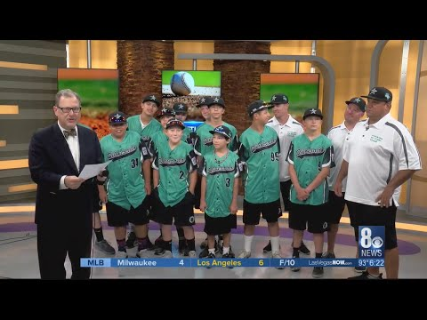 Nevada Little League Champs from Silverado West in Henderson heading to California