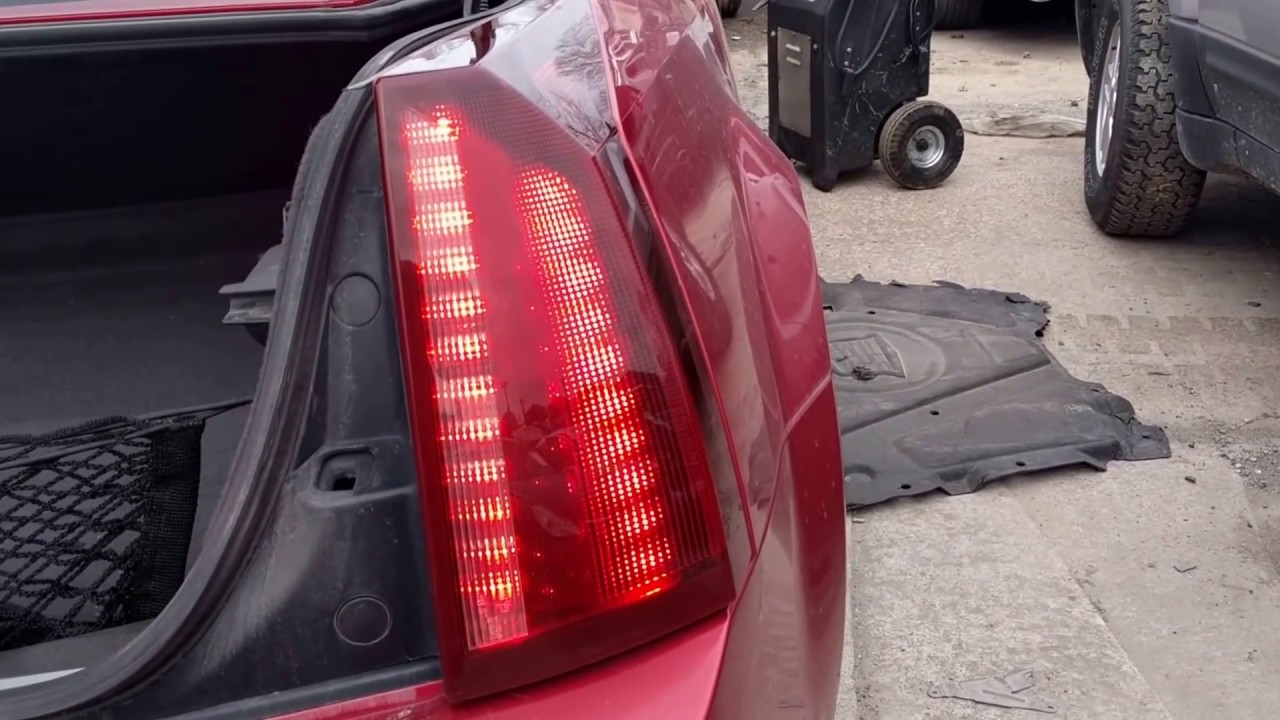 medium resolution of 04 09 cadillac xlr passenger side right tail lamp gm pn 10360931 bench tested