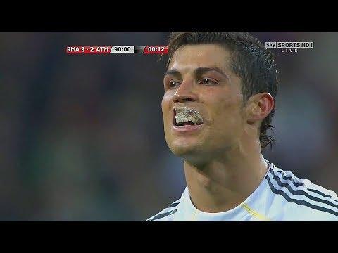 Cristiano Ronaldo Suffering Moments