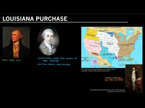James Madison and the Louisiana Purchase