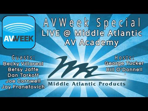 Live from Middle Atlantic's AV Academy