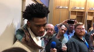 OKC Thunder - Shai Gilgeous-Alexander on win over Denver (Game 56 of 82)
