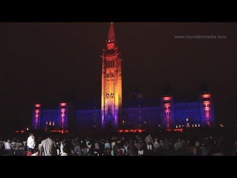 Ottawa, Mosaika Sound & Light, Parliament Hill - Canada HD Travel Channel