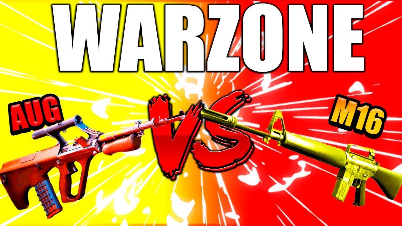 Download M16 VS AUG WARZONE ¿CUAL ES MEJOR?