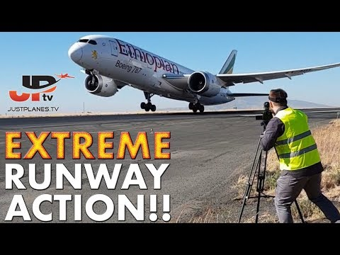 EXTREME RUNWAY ACTION As Close as it Gets!