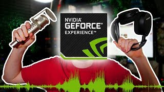 HOW TO Record Multi-Track Audio with Nvidia GeForce Experience - Separate Mic & Game in Shadowplay